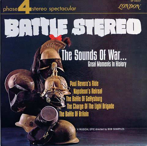 "Bob Sharples Vinyl 12"""