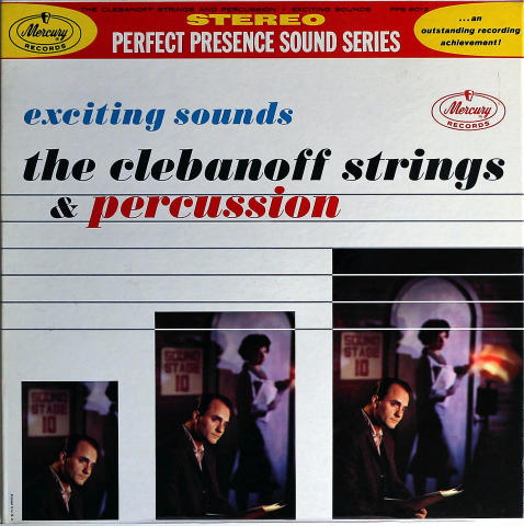 The Clebanoff Strings And Percussion Vinyl 12""