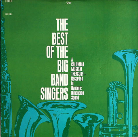 """The Best Of The Big Band Singers Vinyl 12"""" (Used)"""