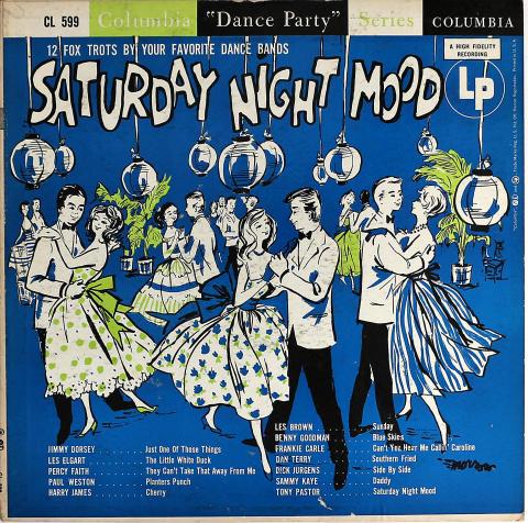 """Saturday Night Mood Vinyl 12"""" (Used)"""