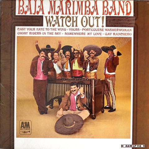 """Baja Marimba Band Vinyl 12"""""""