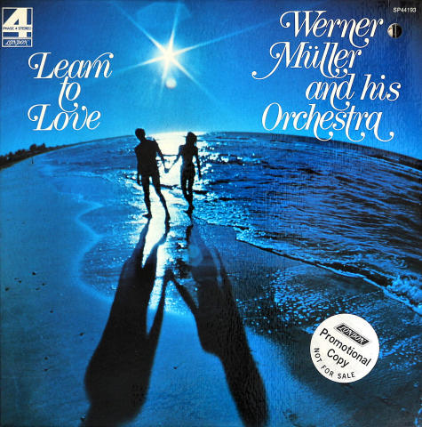Werner Miller And His Orchestra Vinyl 12""
