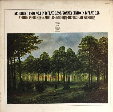 "Yehudi Menuhin / Maurice Gendron / Hephzibah Menuhin Vinyl 12"""