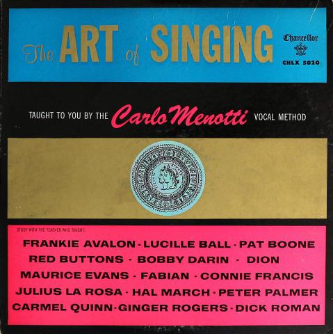 "Carlo Menotti Vinyl 12"""