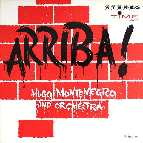 "Hugo Montenegro & Orchestra Vinyl 12"""