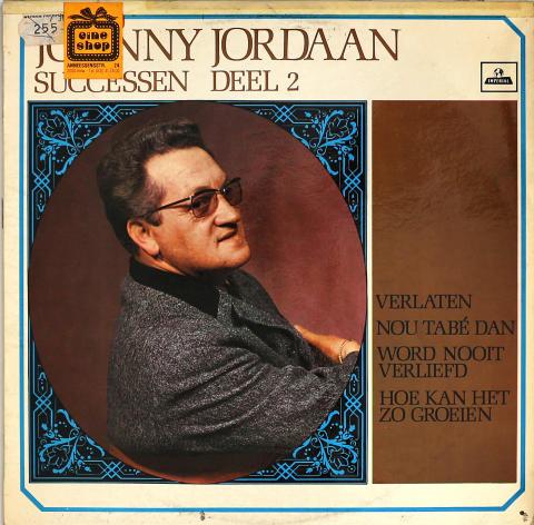 "Johnny Jordaan Vinyl 12"""