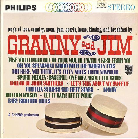 "Granny And Jim Vinyl 12"""