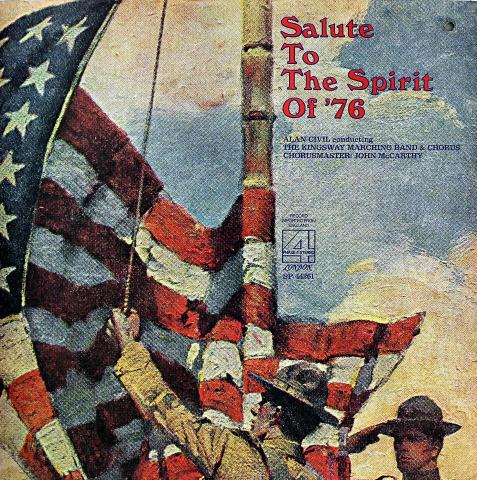 "Alan Civil Conducting The Kingsway Marching Band & Chorus Vinyl 12"""