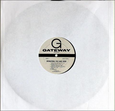 "International Folk Dance Mixer Vinyl 12"""
