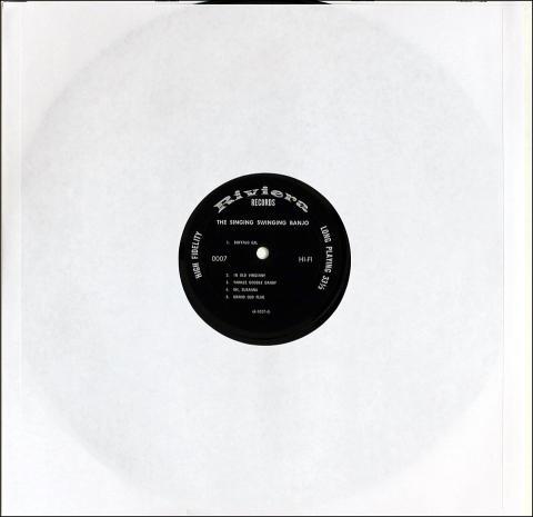 """The Singing Swinging Banjo Vinyl 12"""""""