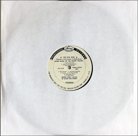 """The Eastman Wind Ensemble Vinyl 12"""""""