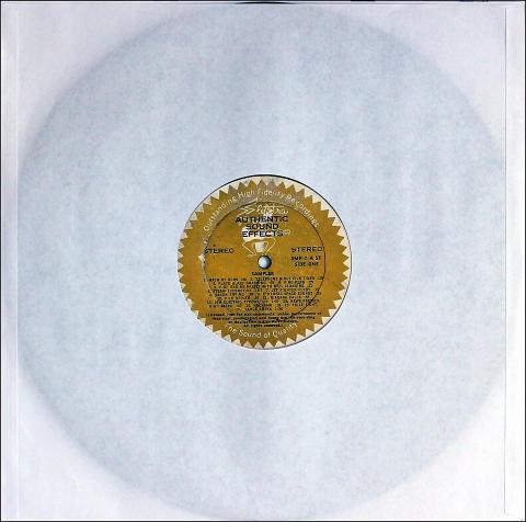 "Authentic Sound Effects Vinyl 12"""