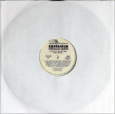 """Lois Wyse Vinyl 12"""""""