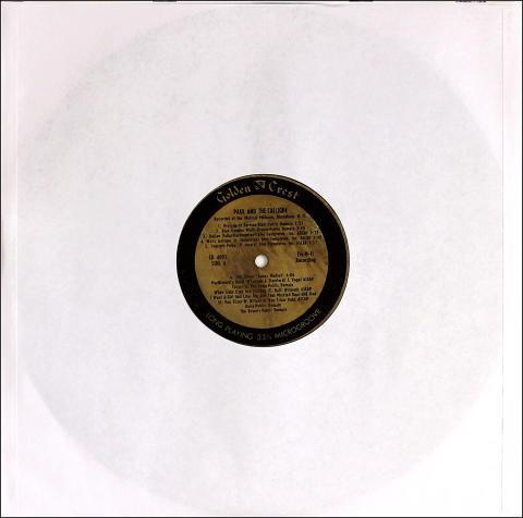 """Paul Jouard Vinyl 12"""""""