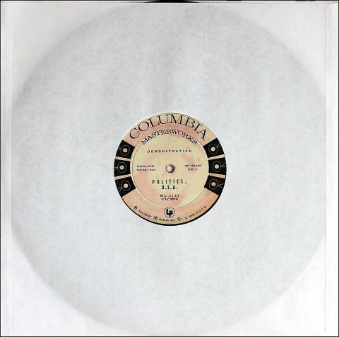 """Politics, U.S.A. Vinyl 12"""""""