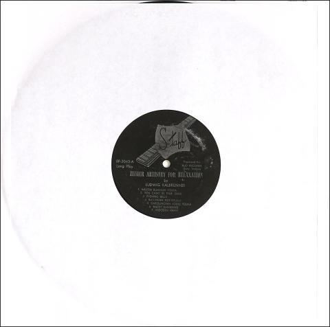 """Ludwig Kalbrunner Vinyl 12"""""""