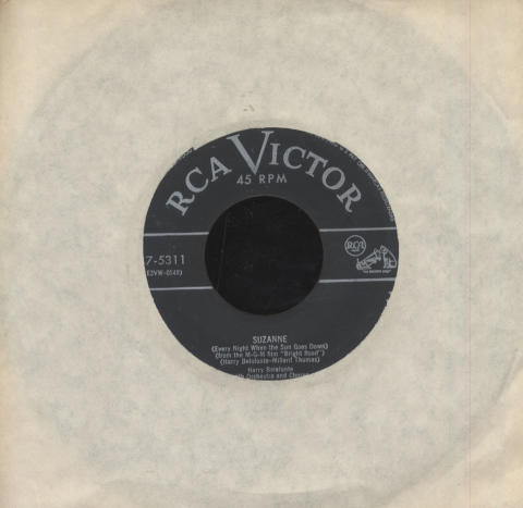 """Harry Belafonte With Orchestra And Chorus Vinyl 7"""" (Used)"""