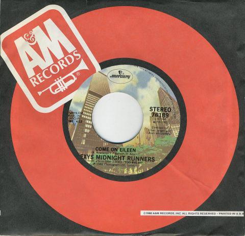 "Dexys Midnight Runners Vinyl 7"" (Used)"