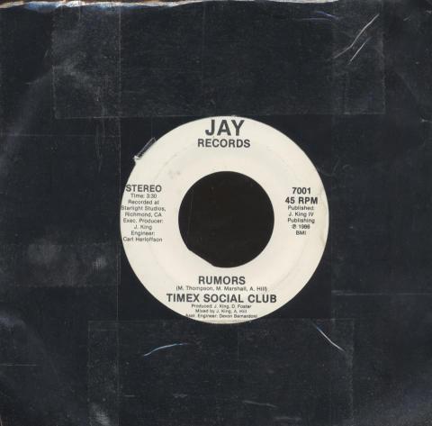 """Timex Social Club Vinyl 7"""" (Used)"""