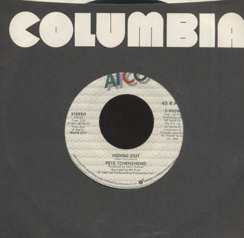 "Pete Townshend Vinyl 7"" (Used)"