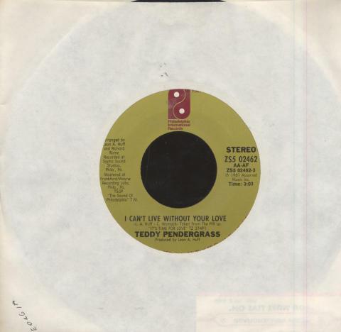 "Teddy Pendergrass Vinyl 7"" (Used)"