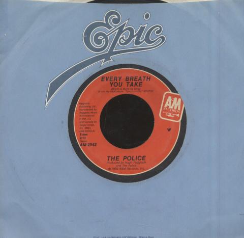 "The Police Vinyl 7"" (Used)"