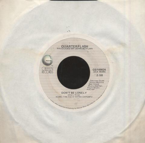 "Quarterflash Vinyl 7"" (Used)"