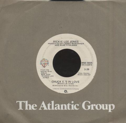 """Rickie Lee Jones Vinyl 7"""" (Used)"""