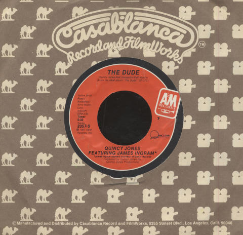 "Quincy Jones / James Ingram Vinyl 7"" (Used)"
