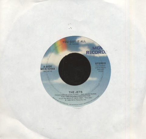 "The Jets Vinyl 7"" (Used)"