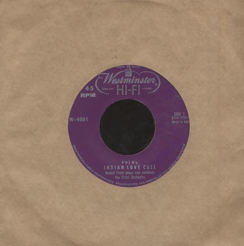 """Rudolf Friml Vinyl 7"""" (Used)"""