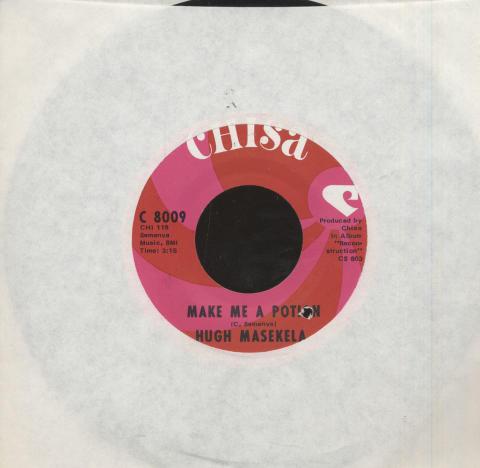"""Hugh Masekela Vinyl 7"""" (Used)"""