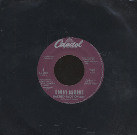 "Donny Osmond Vinyl 7"" (Used)"
