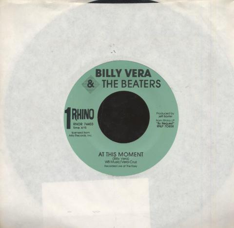 "Billy Vera & the Beaters Vinyl 7"" (Used)"