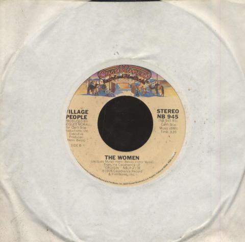 """Village People Vinyl 7"""" (Used)"""