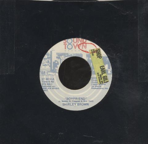 "Shirley Brown Vinyl 7"" (Used)"