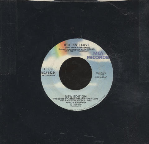 "New Edition Vinyl 7"" (Used)"