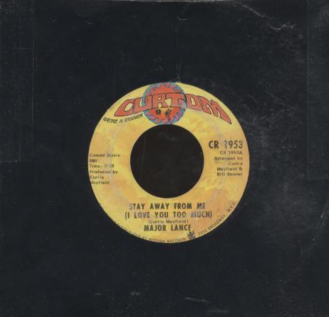 """Major Lance Vinyl 7"""" (Used)"""