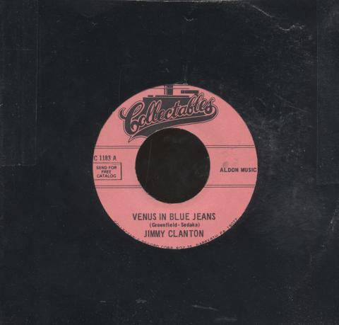 "Jimmy Clanton Vinyl 7"" (Used)"