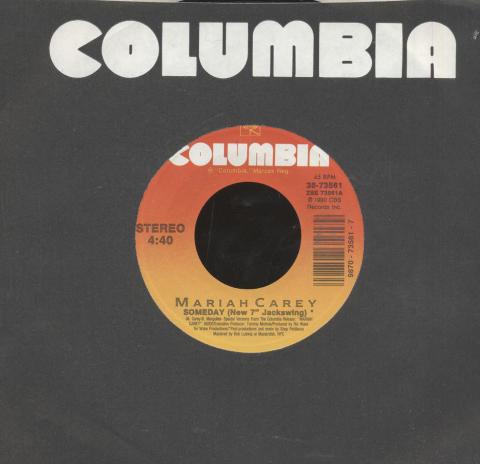 """Mariah Carey Vinyl 7"""" (Used)"""