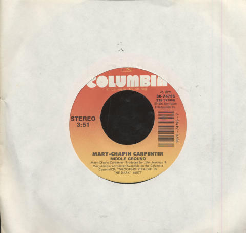 "Mary Chapin Carpenter Vinyl 7"" (Used)"