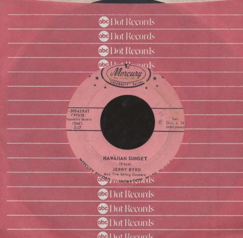 "Jerry Byrd Vinyl 7"" (Used)"