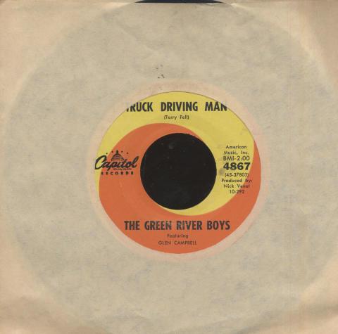 "Glen Campbell Vinyl 7"" (Used)"