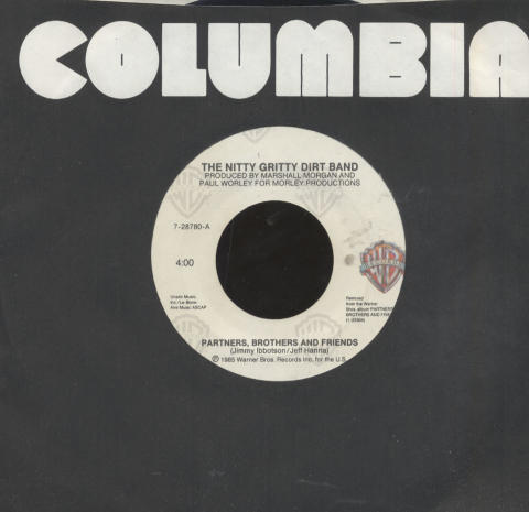 """The Nitty Gritty Dirt Band Vinyl 7"""" (Used)"""