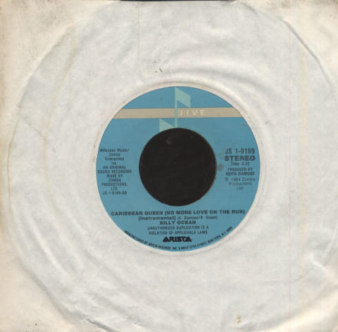 """Billy Ocean Vinyl 7"""" (Used)"""