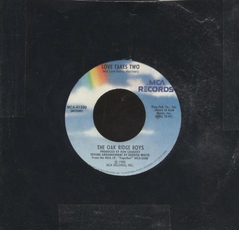"The Oak Ridge Boys Vinyl 7"" (Used)"