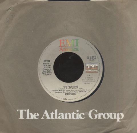 """John Waite Vinyl 7"""" (Used)"""