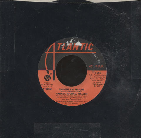 "Narada Michael Walden Vinyl 7"" (Used)"