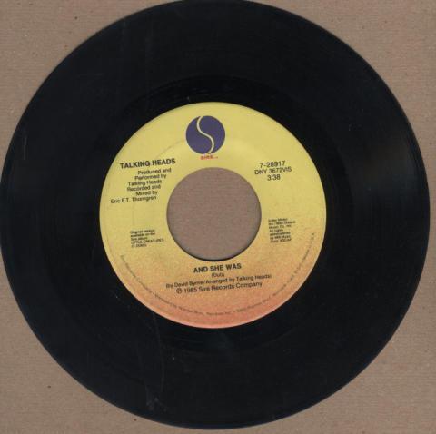 """Talking Heads Vinyl 7"""" (Used)"""