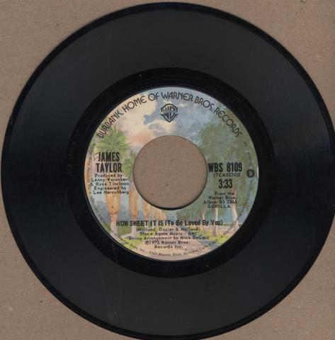 "James Taylor Vinyl 7"" (Used)"
